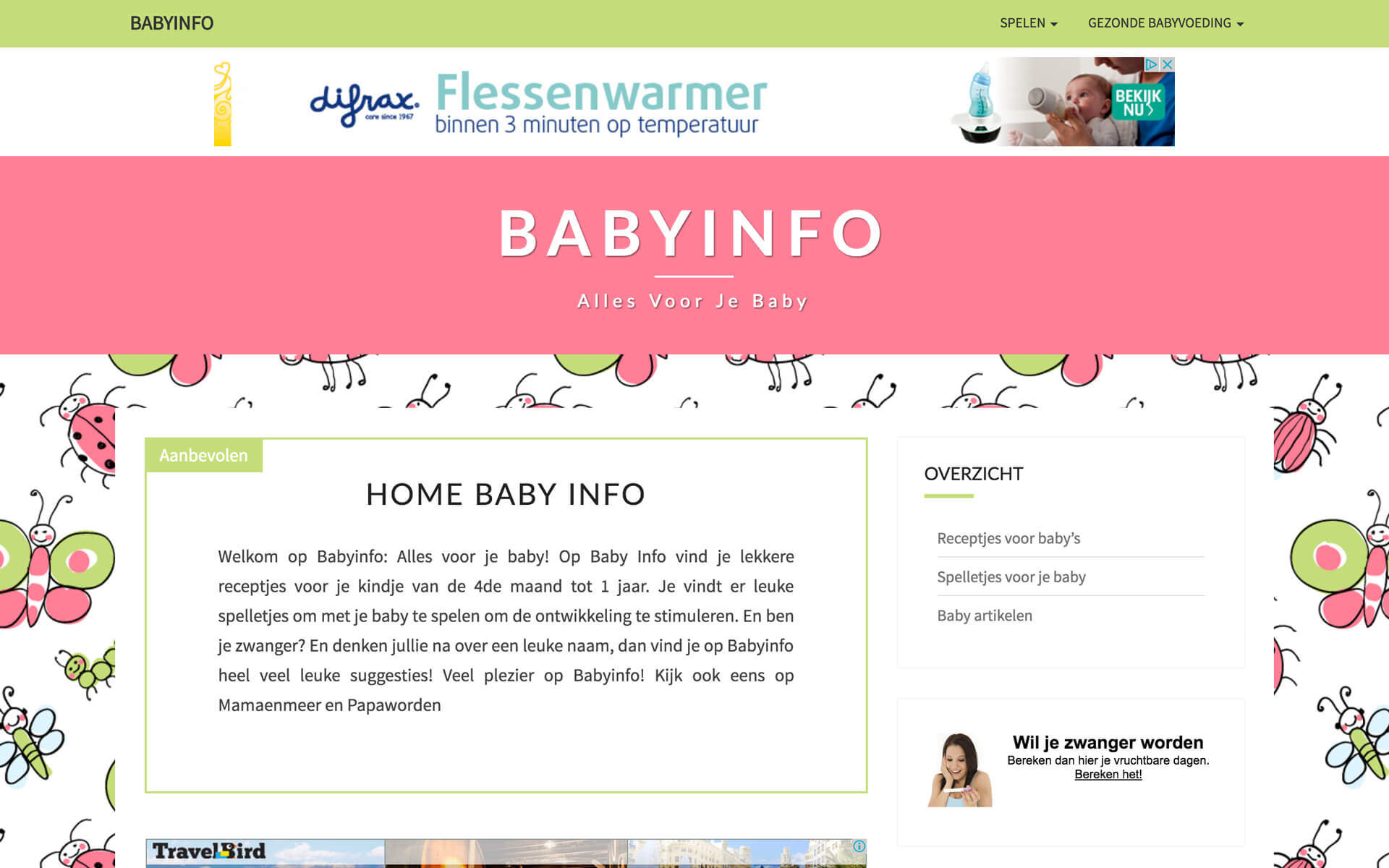 babyinfo.be desktop preview