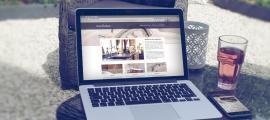 Sfeerbeeld website ontwerp van Kenny& Mason