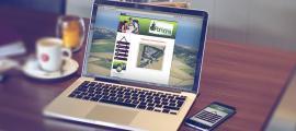 Sfeerbeeld website ontwerp van minicampingpomona.nl