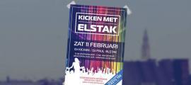 Sfeerbeeld poster ontwerp Kicken met Elstak