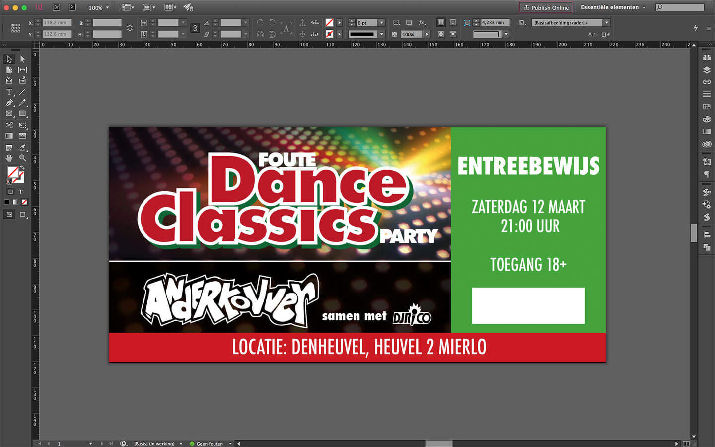 Toegangskaarten 'Foute Dance Classics Party' - denheuvel Mierlo