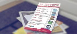 Sfeerbeeld van Flyer ontwerp voor Sasse zwemweek