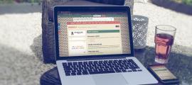 Sfeerbeeld website ontwerp van babyflock.nl