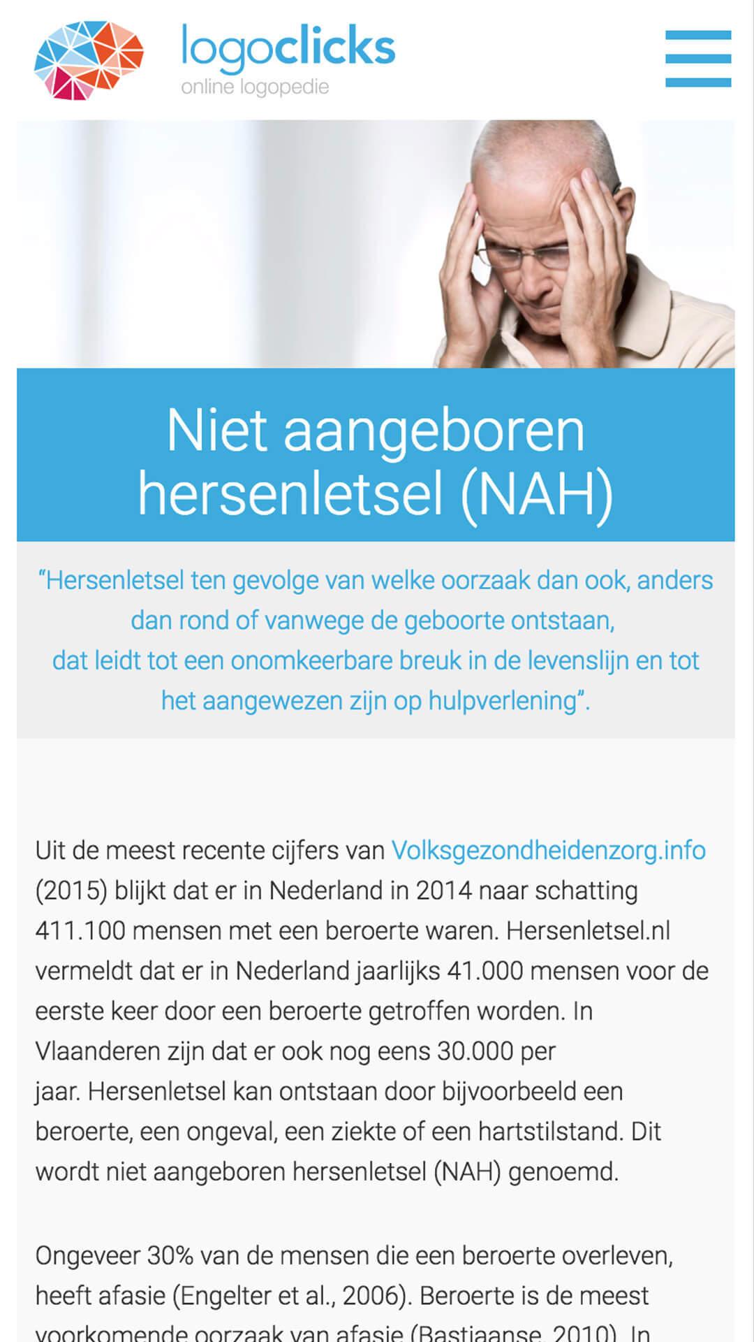 logoclicks.nl mobile preview