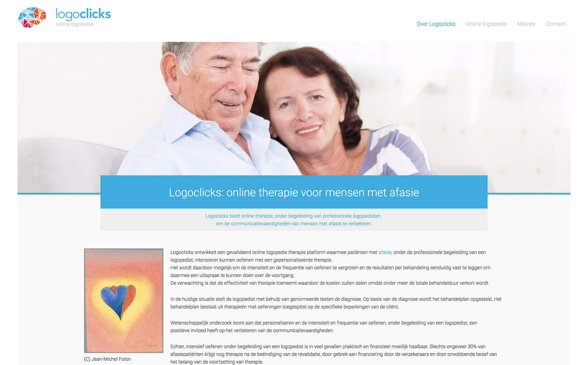 logoclicks.nl desktop preview
