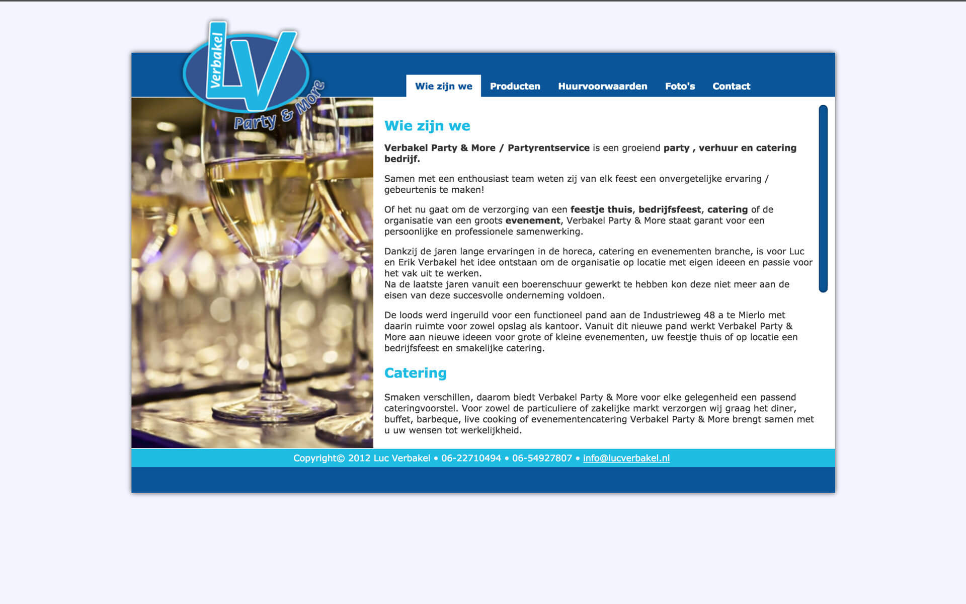 lucverbakel.nl desktop preview