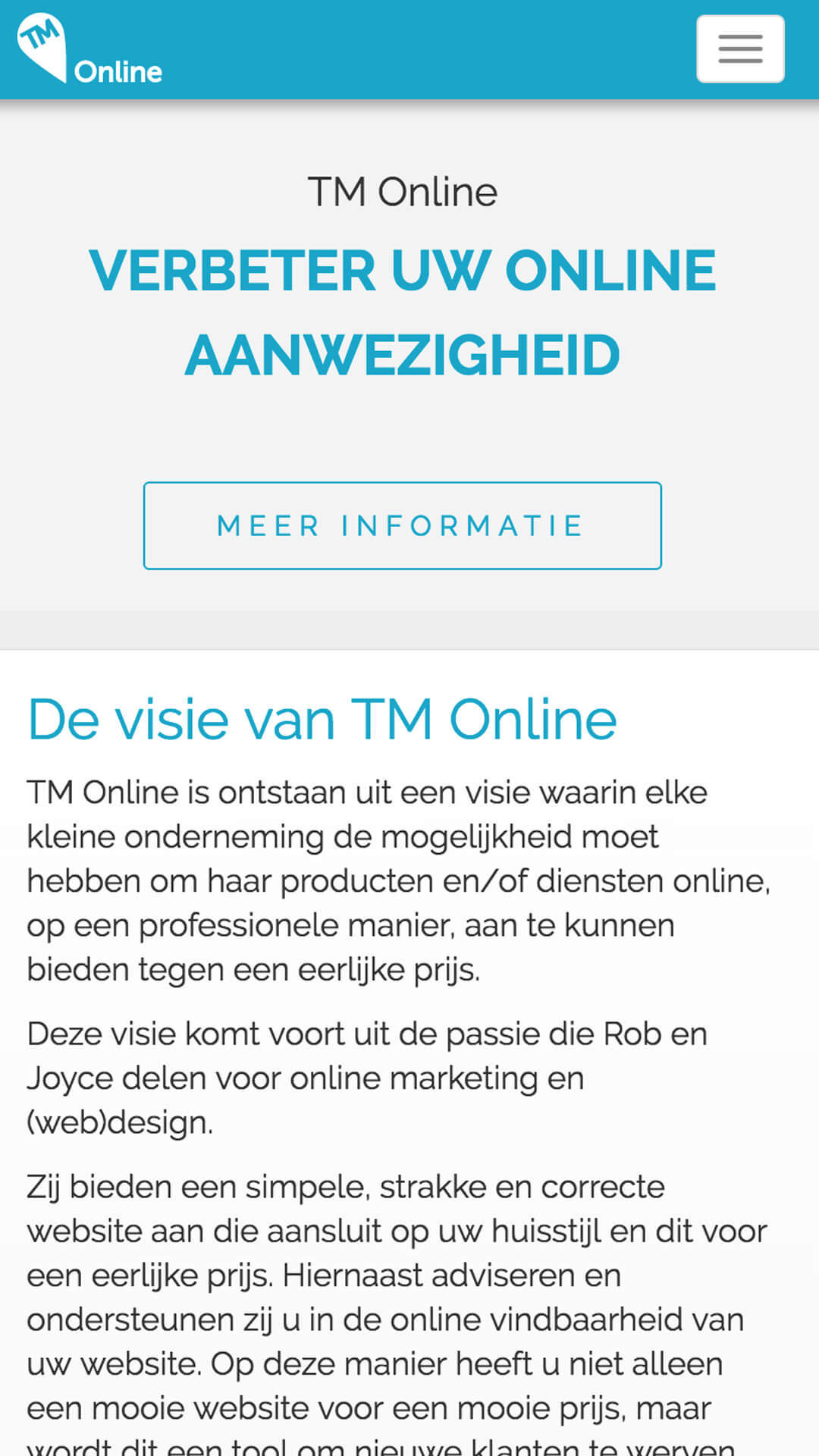 tm-online.be mobile preview