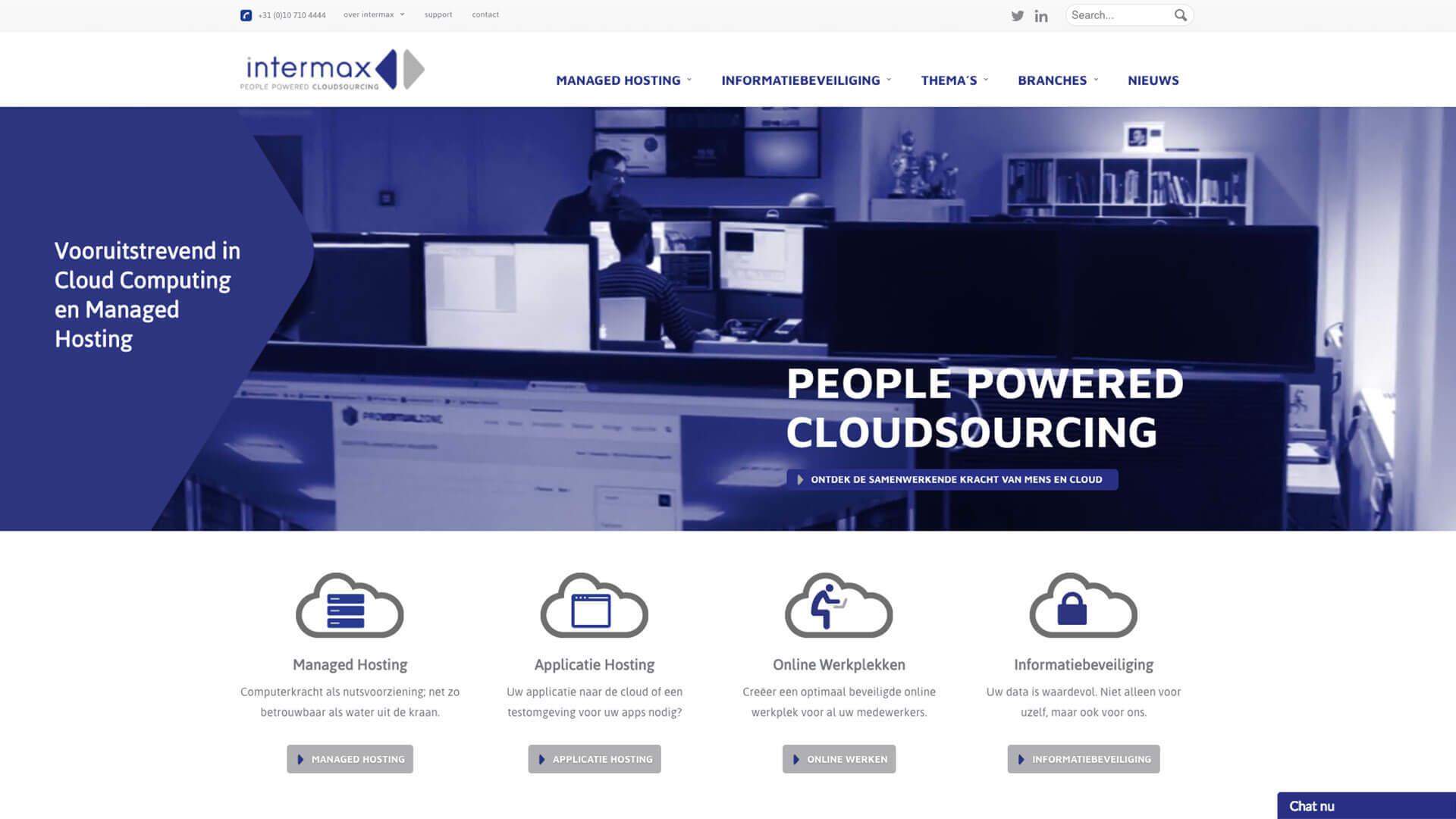 intermax.nl desktop preview