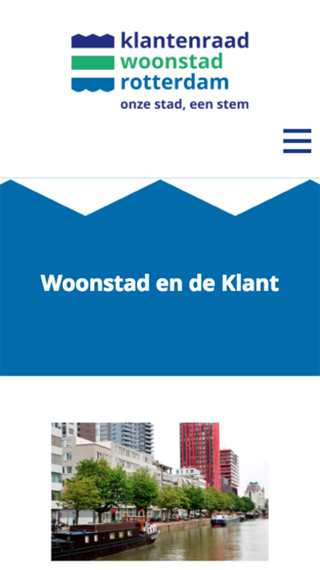 klantenraadwoonstadrotterdam.nl mobile preview