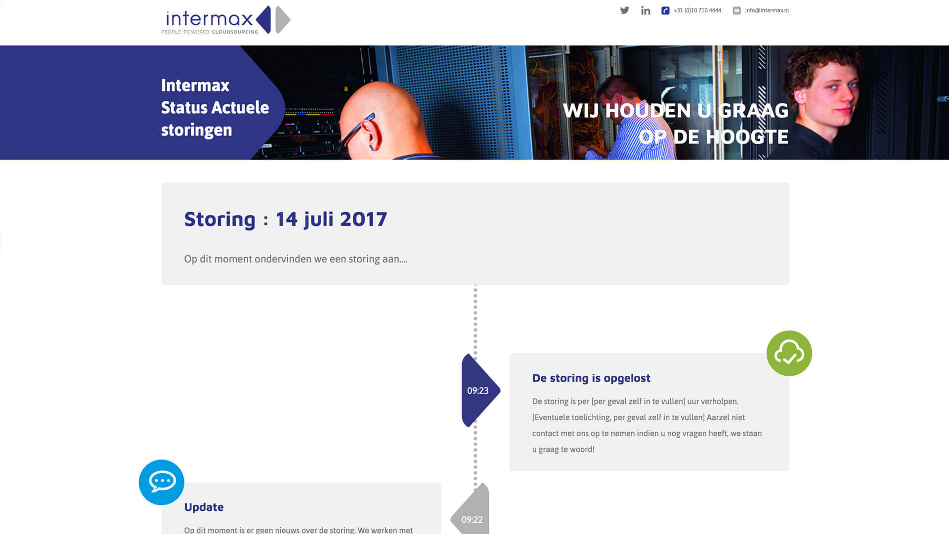 intermaxstatus.nl desktop preview