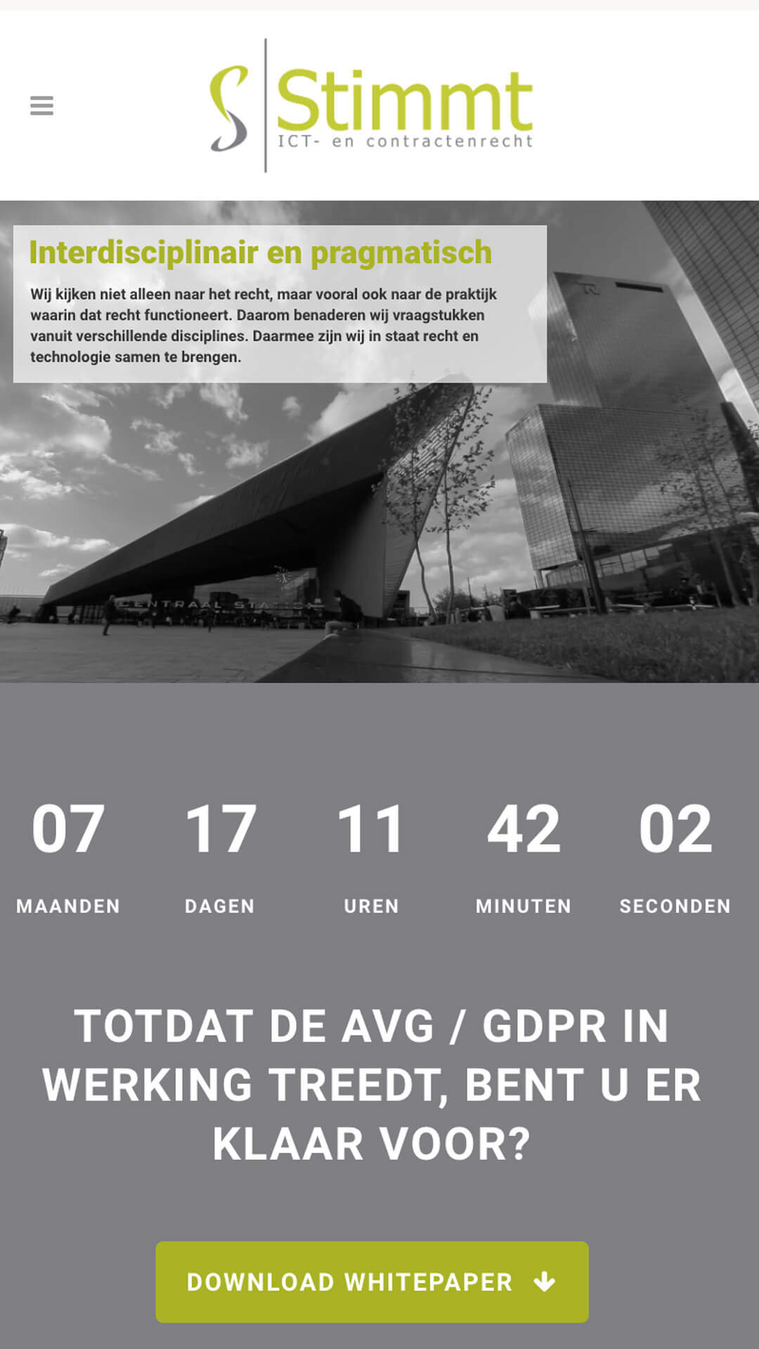 stimmt.nl mobile preview