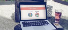 Sfeerbeeld website ontwerp van Afasietherapie