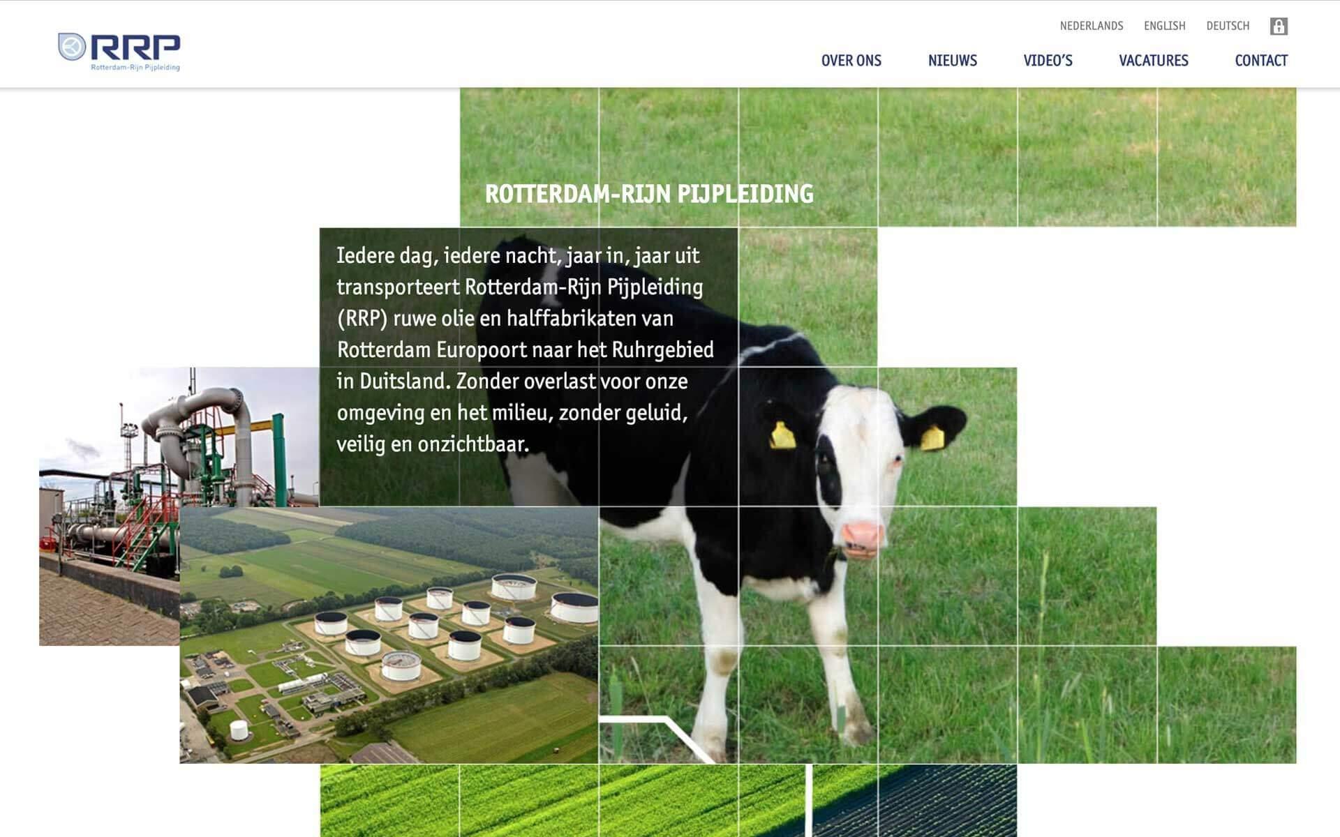 rrpweb.nl RRP desktop preview