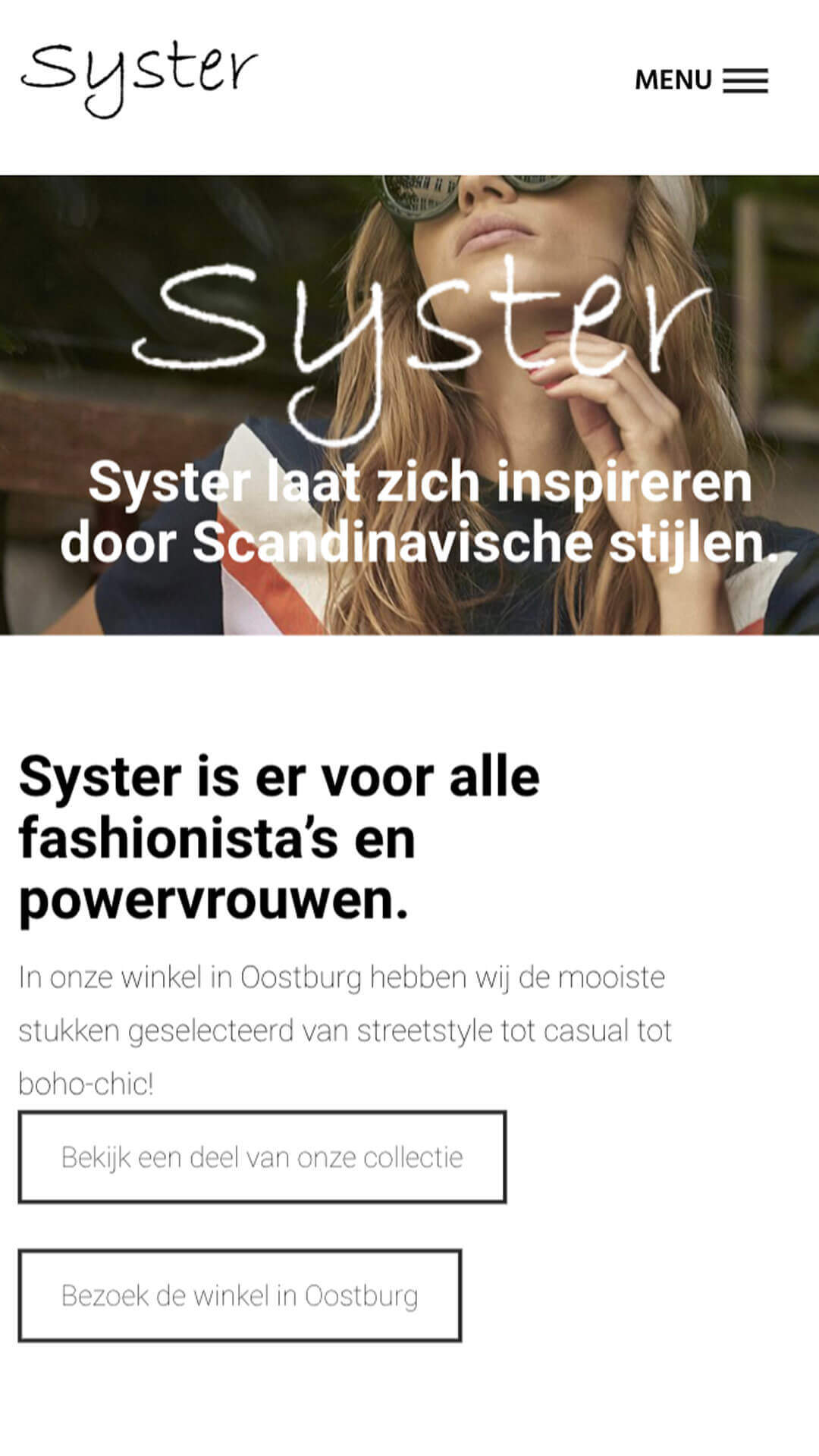 systerfashion.nl mobile preview