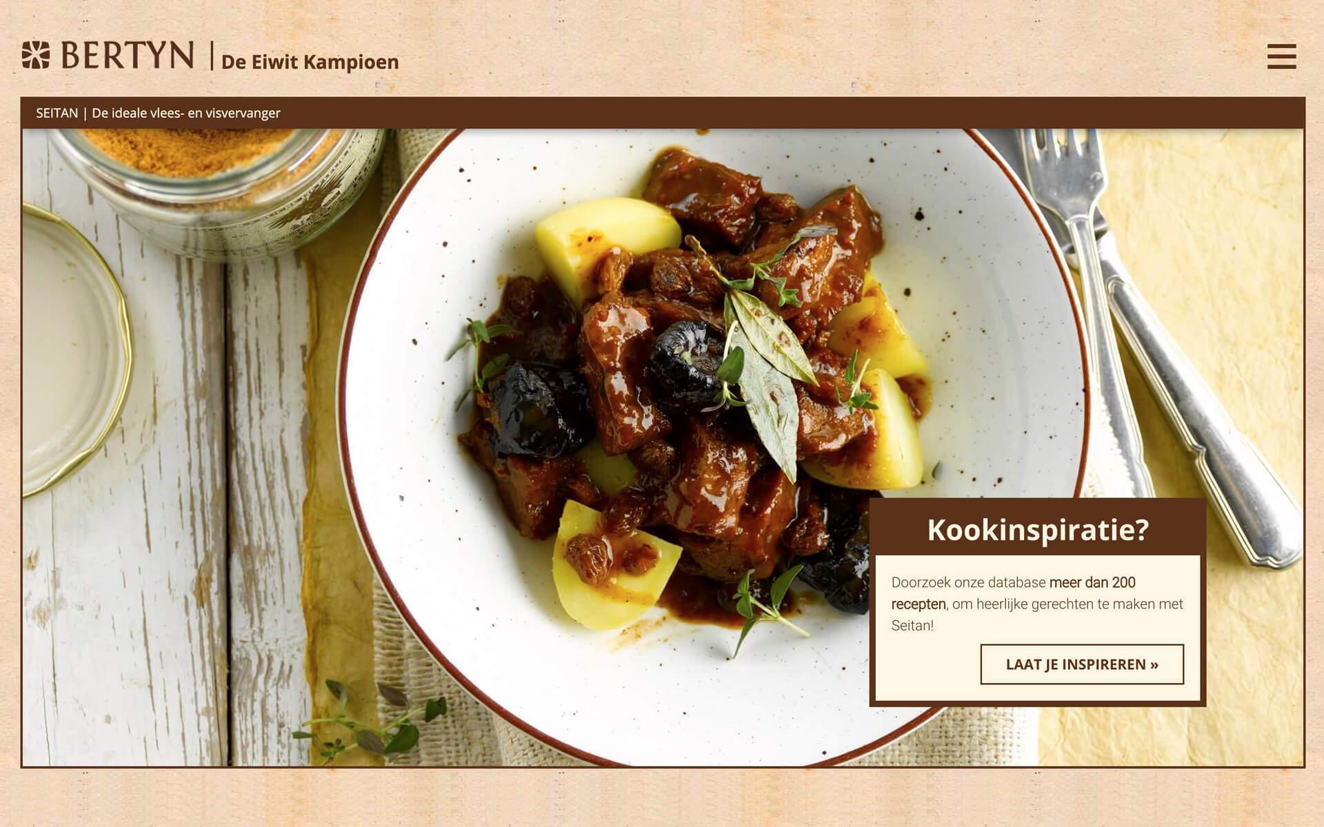 Bertyn.eu Eiwit kampioen desktop preview