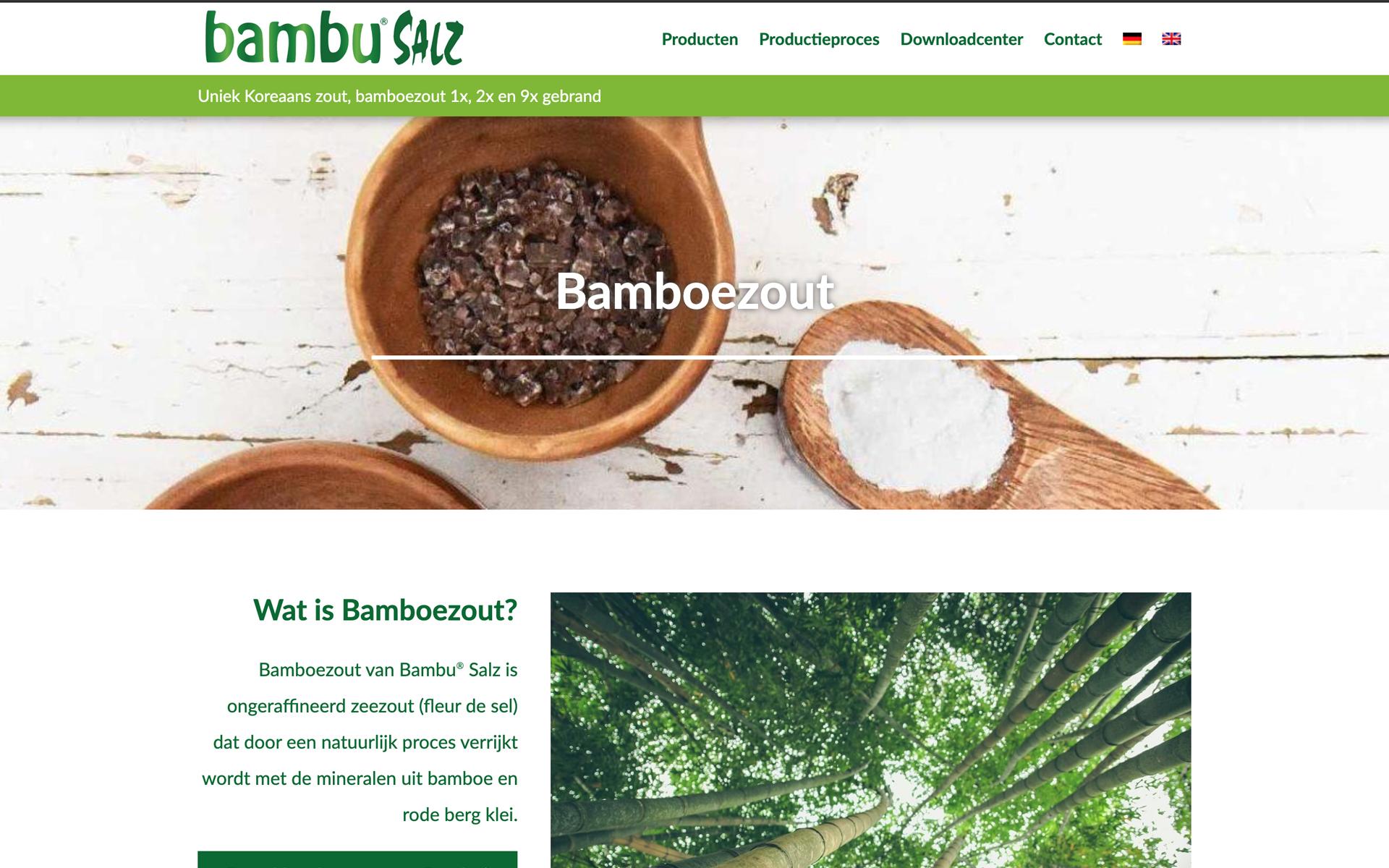 Bambusalz - Uniek Koreaans gebrand bamboezout desktop preview